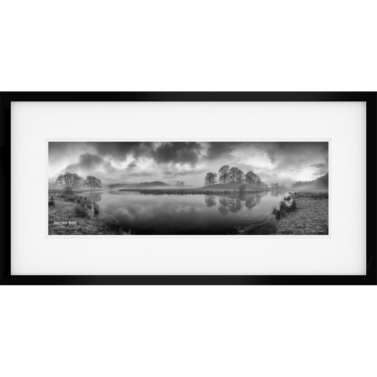 River Brathay Panorama framed print
