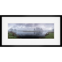 River-Brathay-Panorama Colour framed print