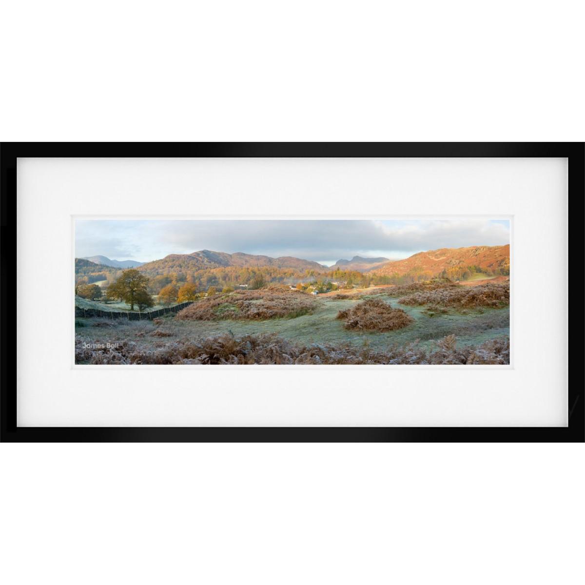 Elterwater Common Framed Print