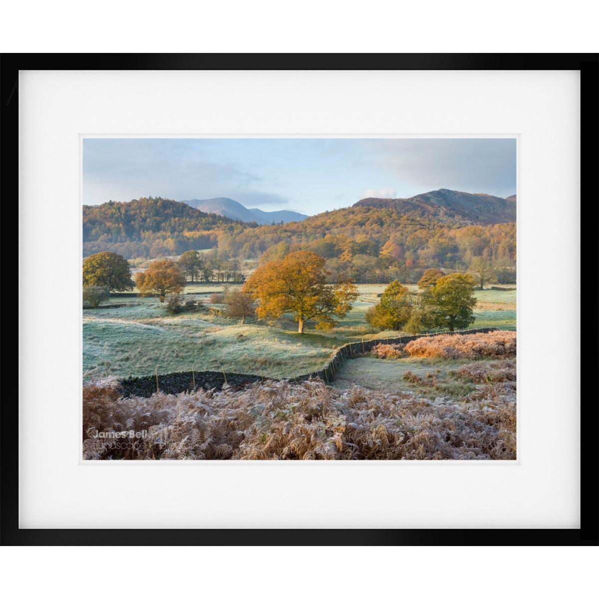 Elterwater Common View framed print
