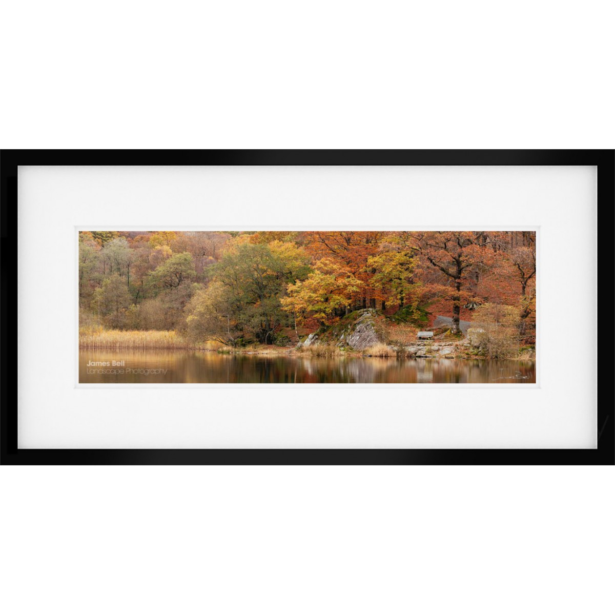 Grasmere Autumn Framed print