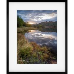 Rydal Sunrise framed print