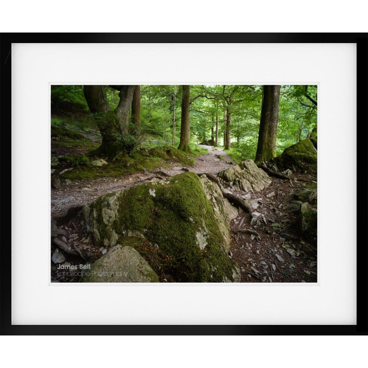 Penny Rock to Grasmere framed print
