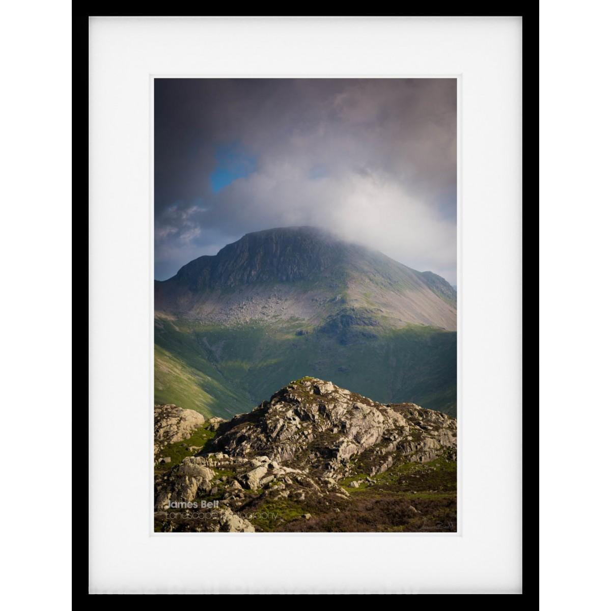 Great Gable from Haystacks framed print