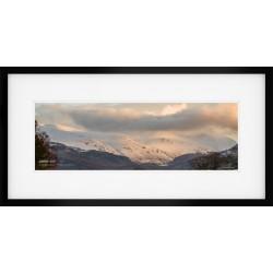 Helvellyn Range framed print