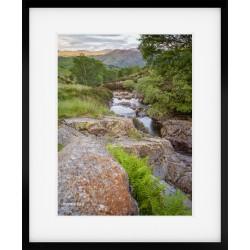 Honister Stream framed print