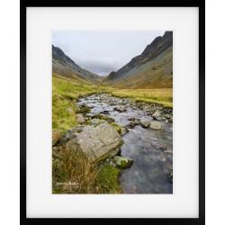 Honister Stream II framed print