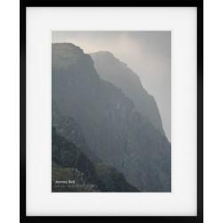 Honister Crag framed print