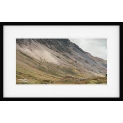 Honister Slope framed print