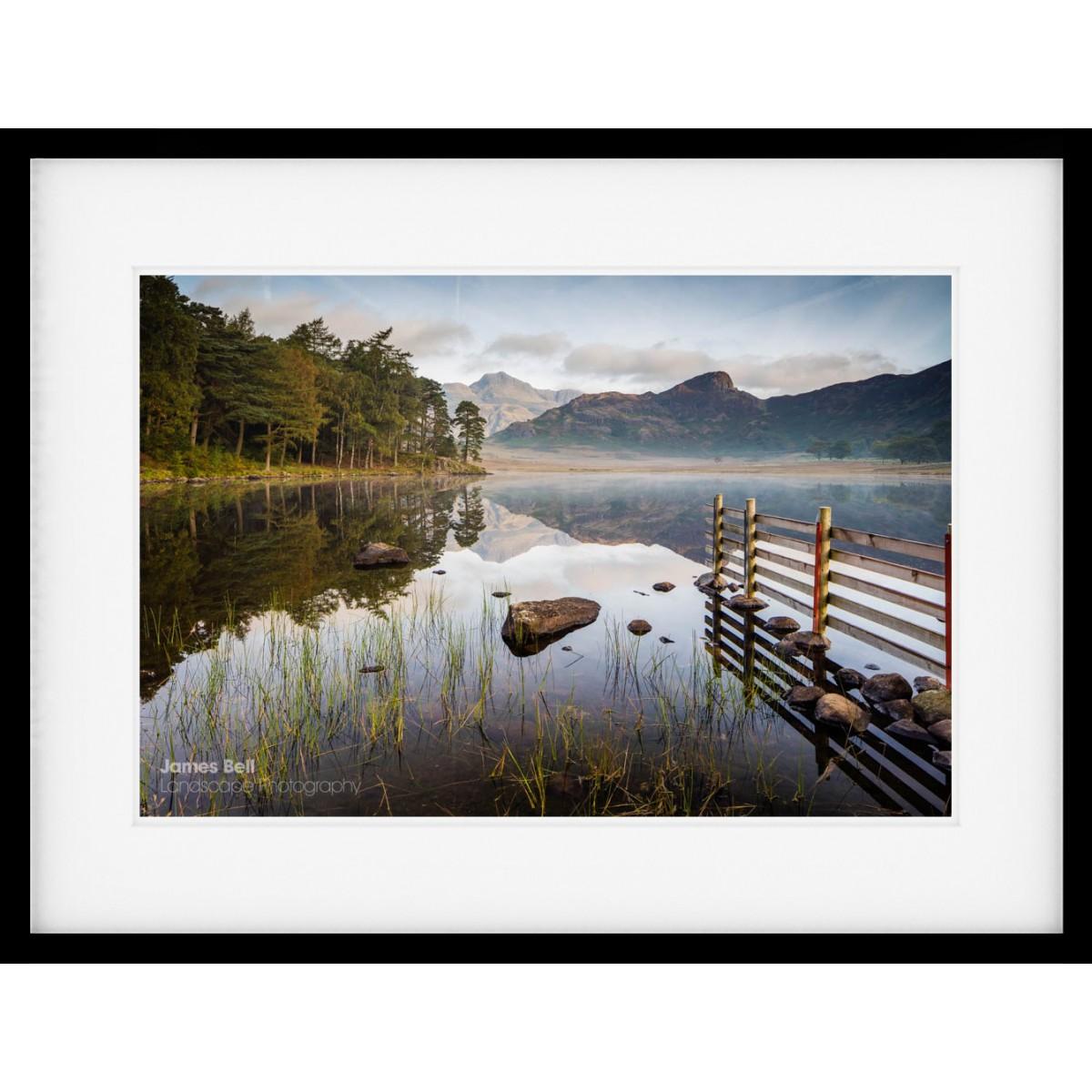 Blea Tarn Morning framed print
