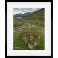 Above Blea Tarn framed print