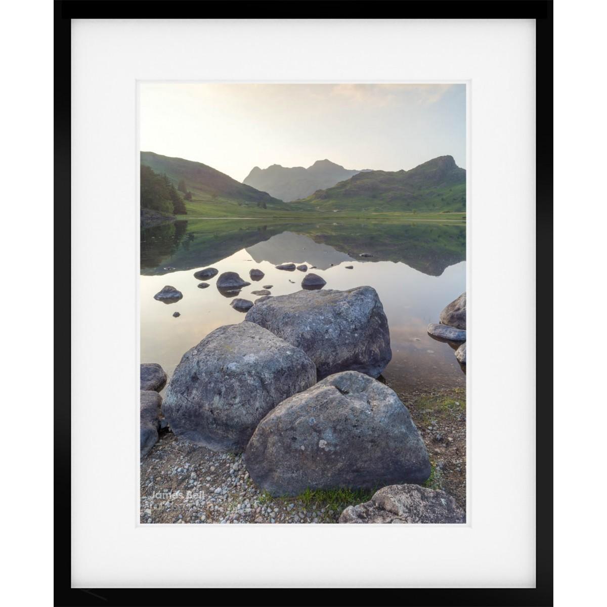 Blea Tarn Summer Reflections framed print