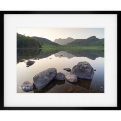 Blea Tarn Summer Reflections II framed print
