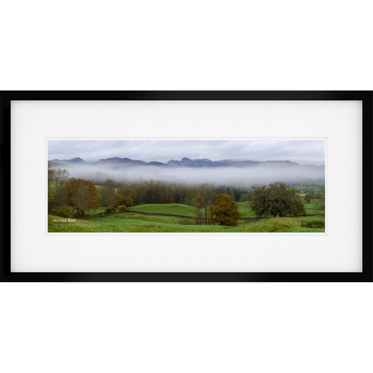 View from Skelwith Fold Viewpoint framed print