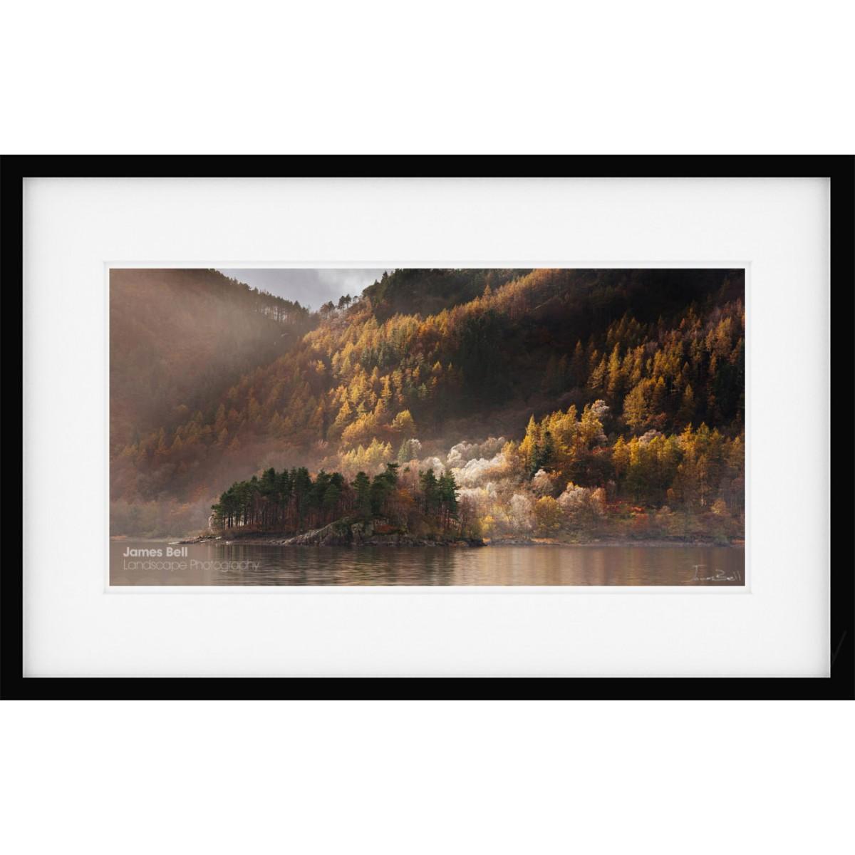 Thirlmere Autumn Framed Print