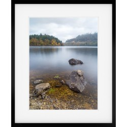 Thirlmere Autumn Portrait Framed print