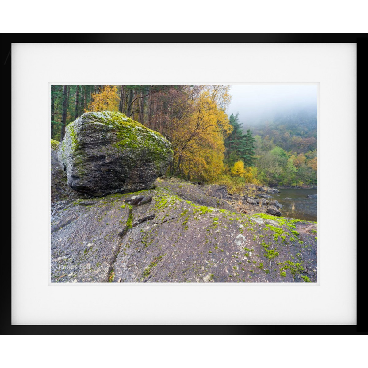Thirlmere Autumn Scene framed print
