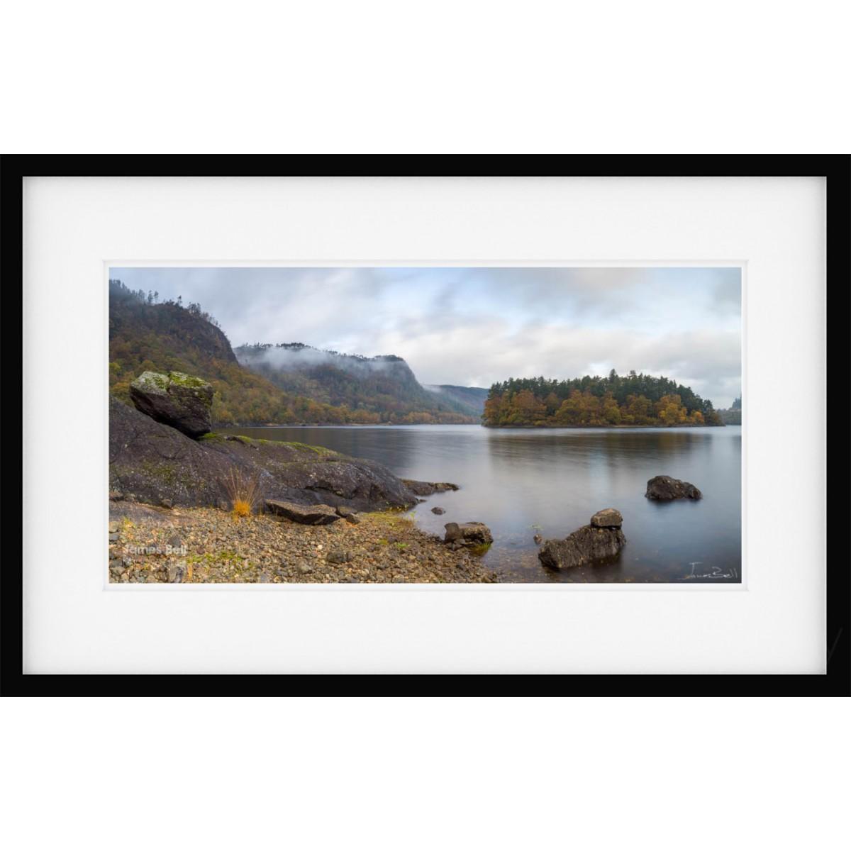 Thirlmere Autum Vista Framed Print