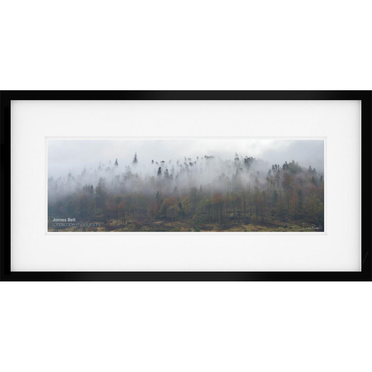 Thirlmere Mist Framed Print