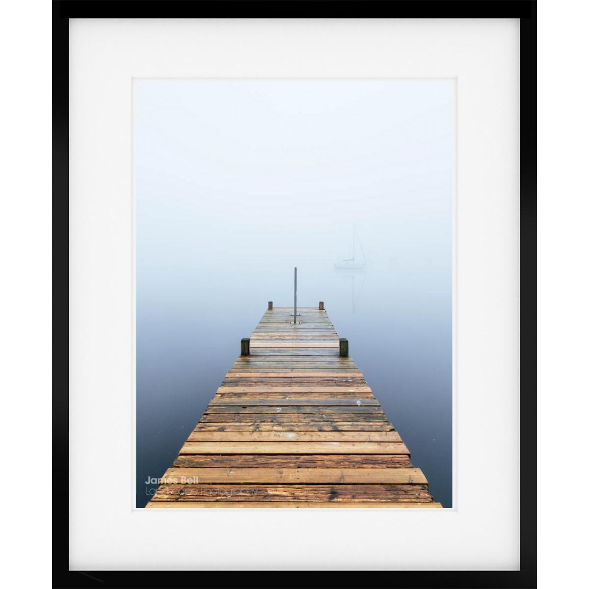 Windermere Misty Morning framed print