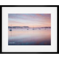 Windermere Sunrise framed print
