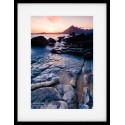 Elgol Beach Sunset framed print