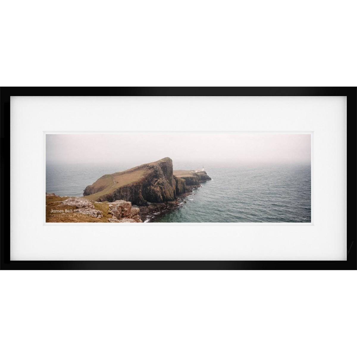 Neist Point Panorama framed print