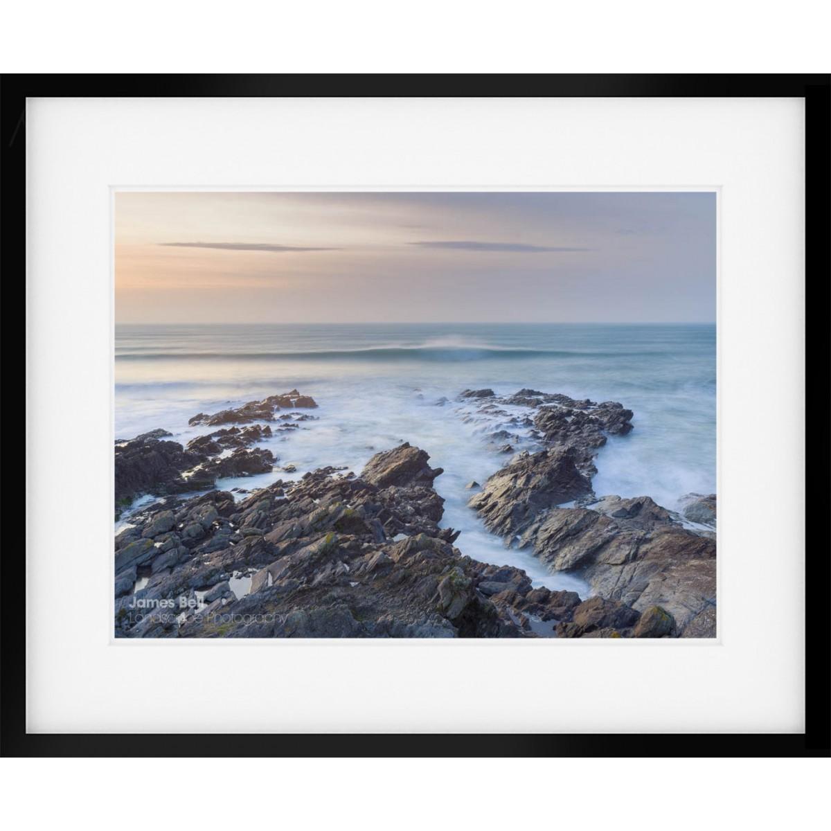 Fistral Beach Sunset framed print