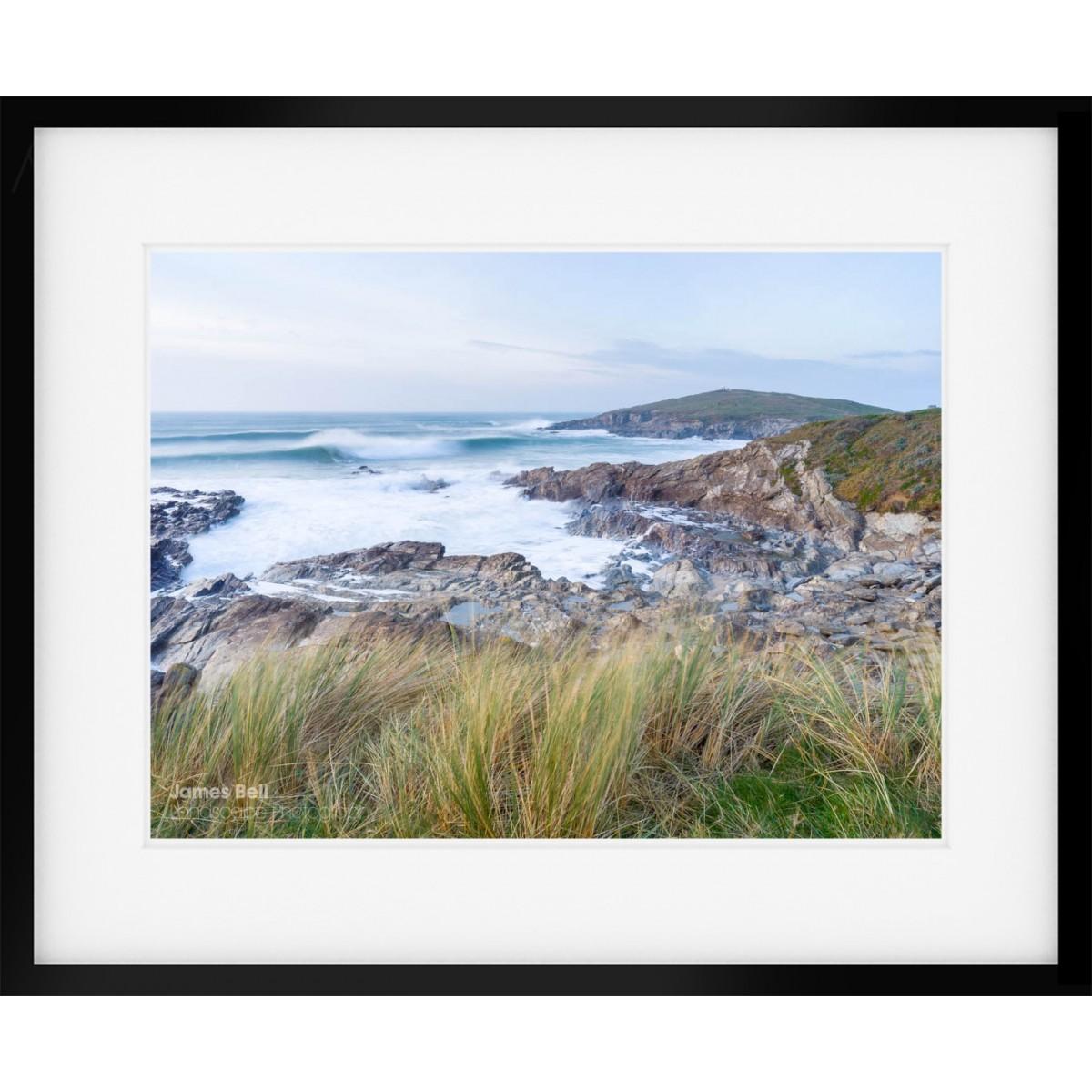Towan Head framed print