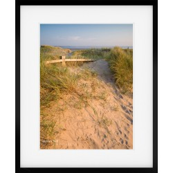 Crosby Dunes framed print