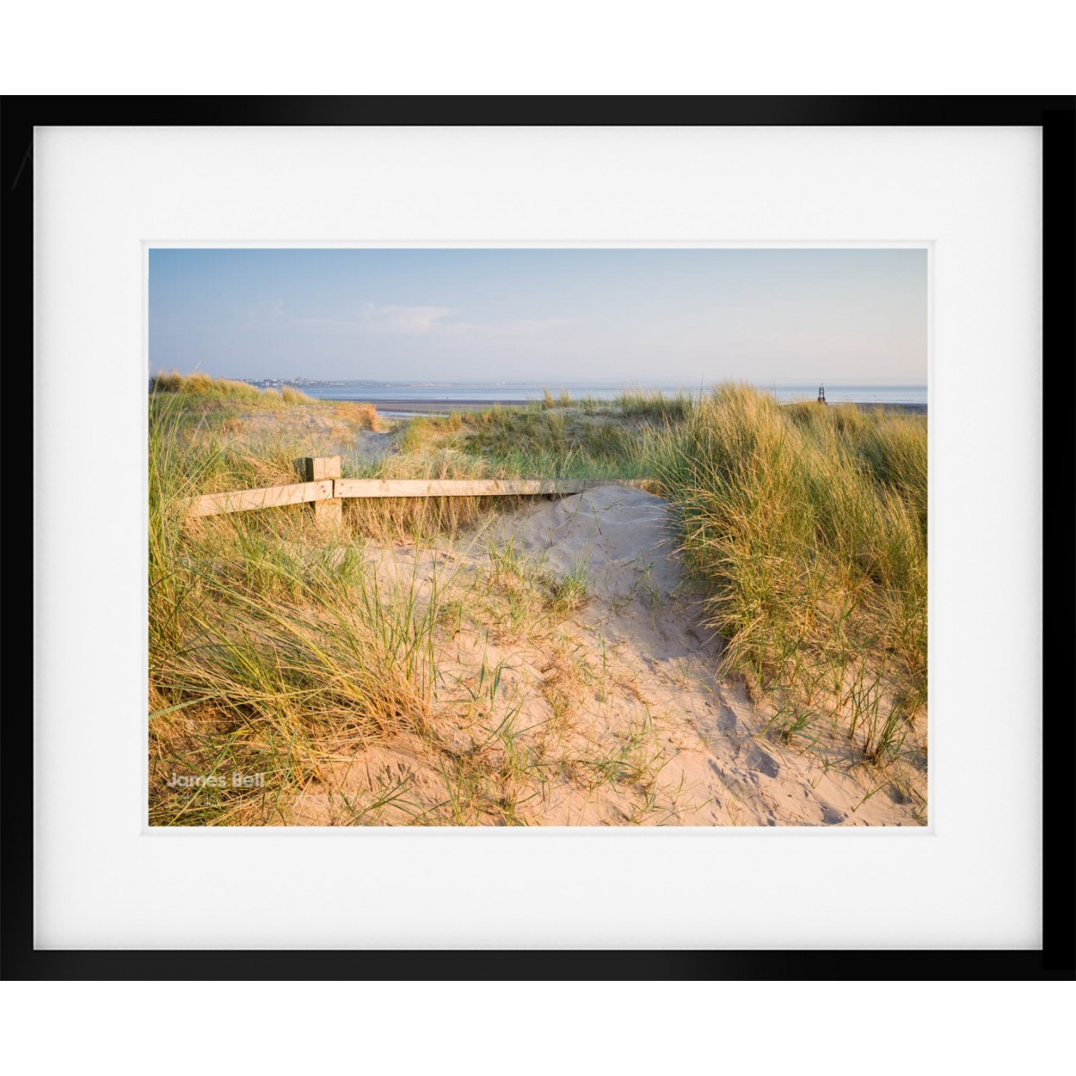 Crosby Dunes framed print