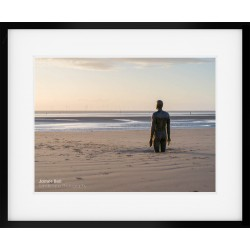 Crosby Beach View framed print
