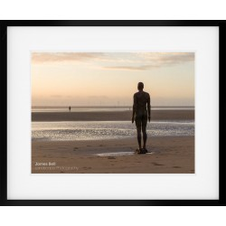 Another Place on Crosby Beach framed print