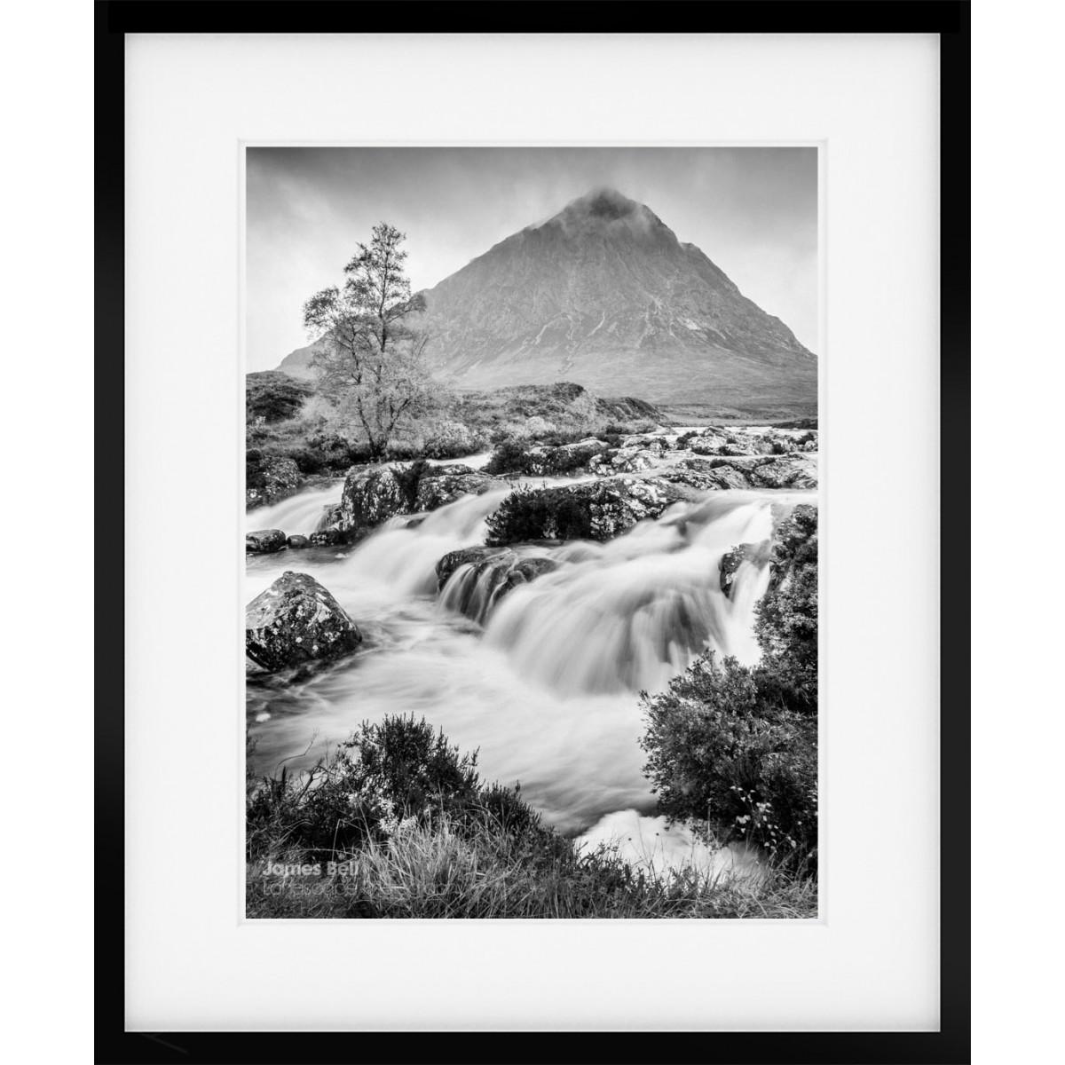 Buachaille Etive Mor Mono framed print