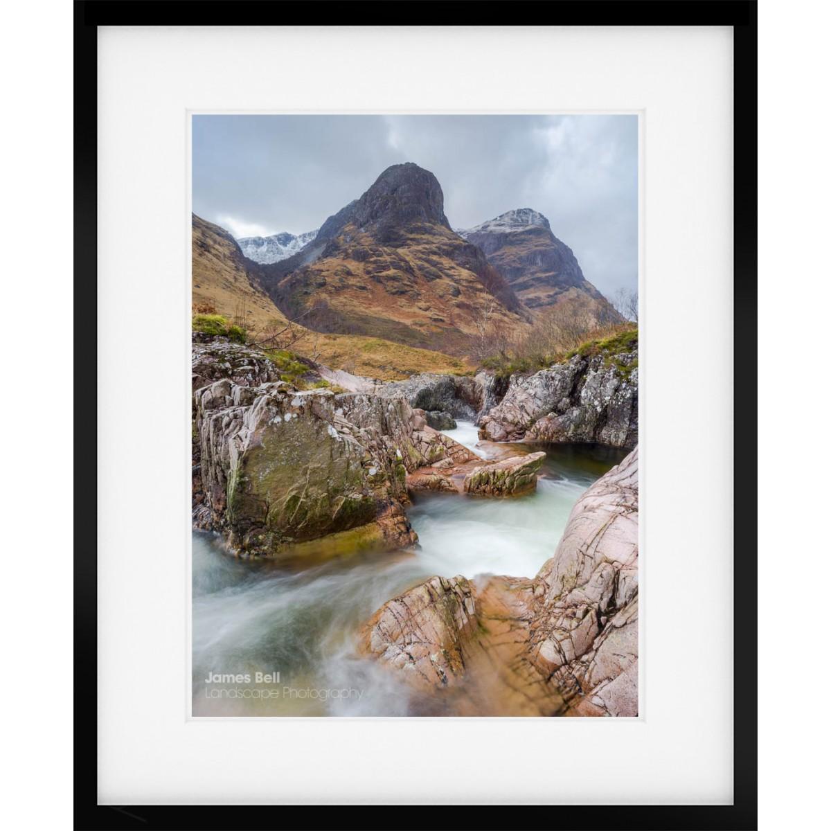 River Coe framed print