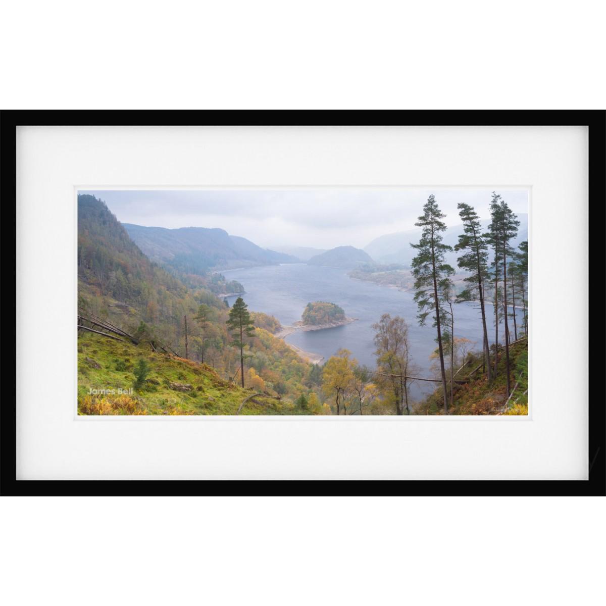 Thackmell Crags View framed print