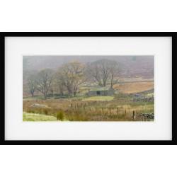 Wythburn Barn framed print