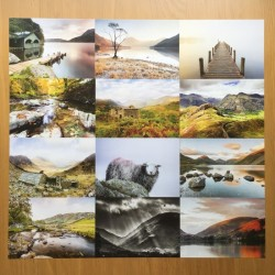 Lake District Postcards 12pk