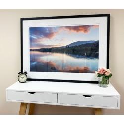Coniston Sunset framed print