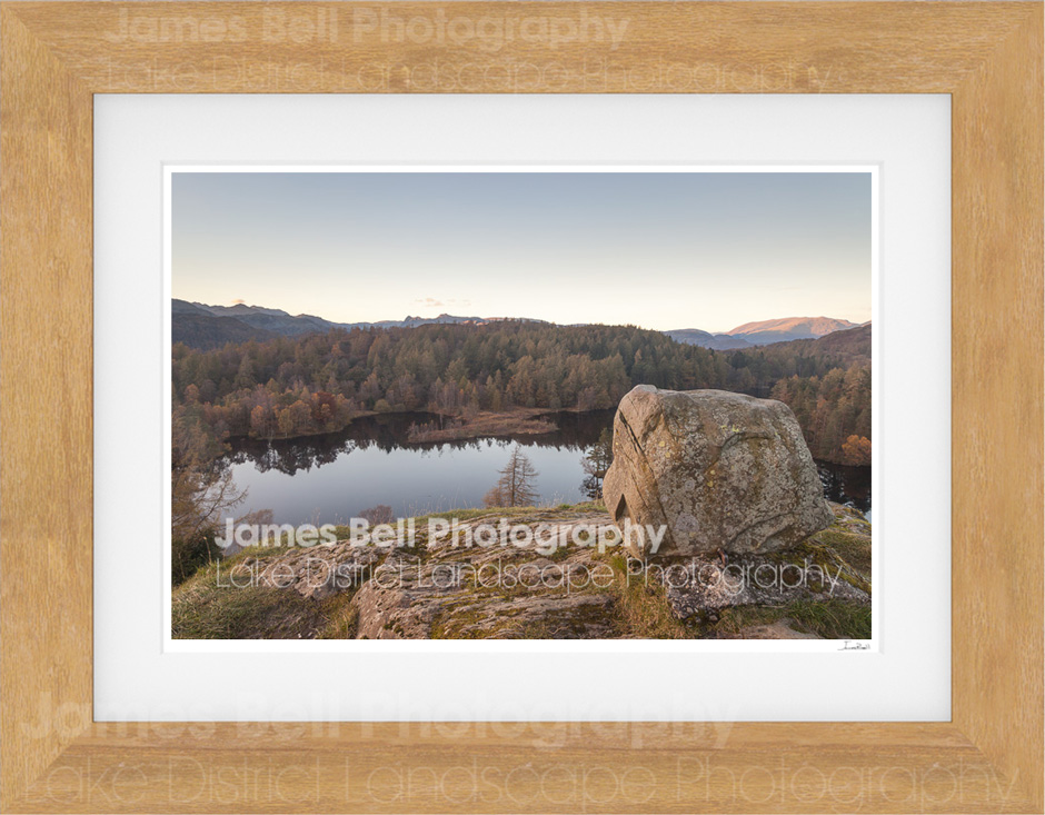 Tarn Hows memorial print by James Bell