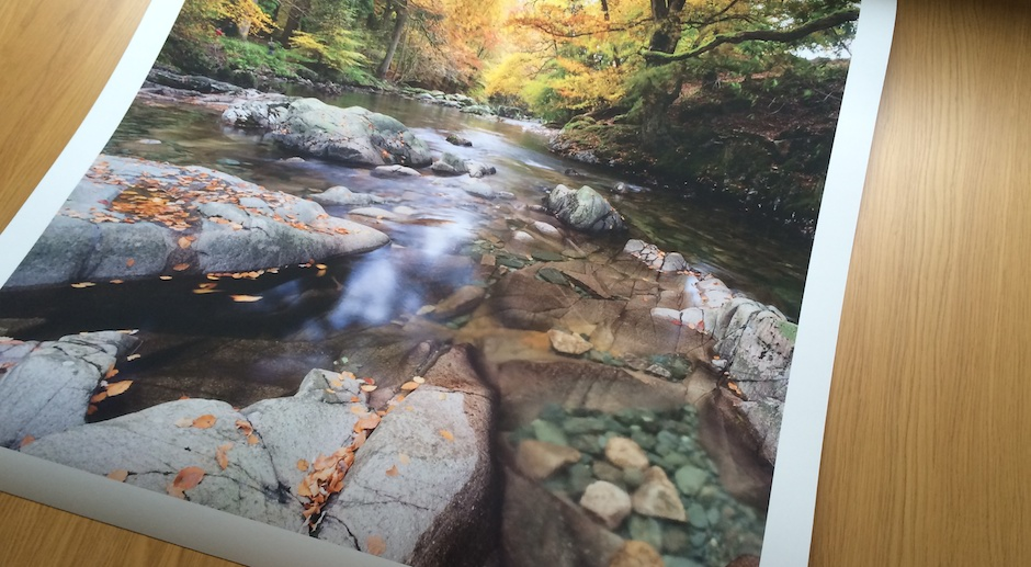 Eskdale River Print by James Bell