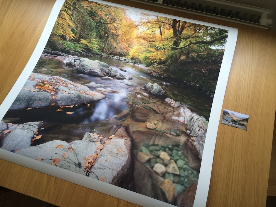 Eskdale Print by James Bell