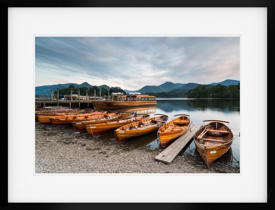 Derwentwater Boat Print