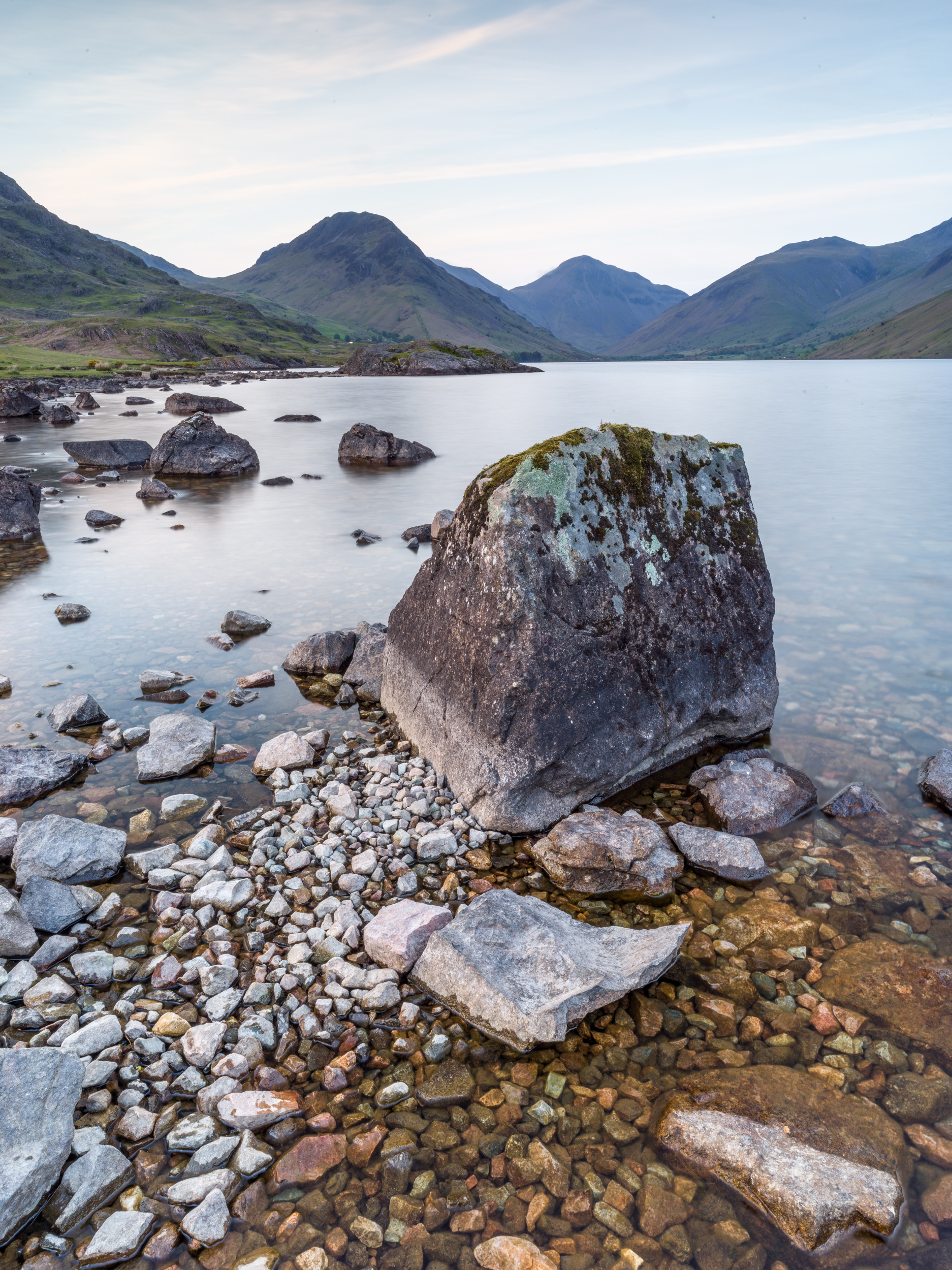 Wastwater Landscape Photography Evening Shoot