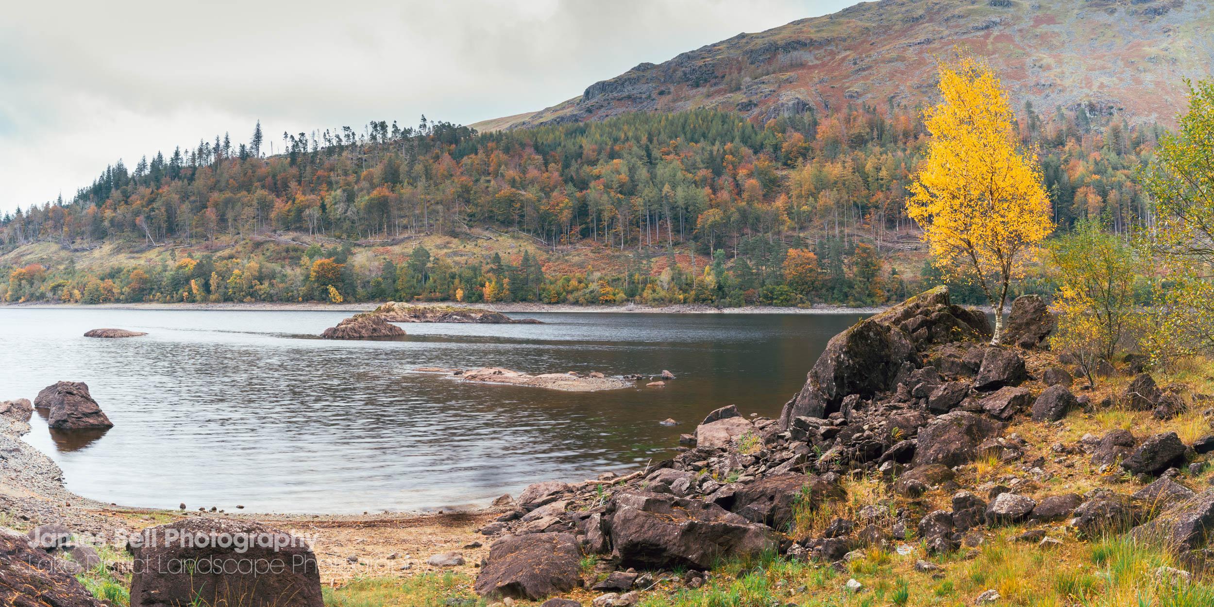 Thirlmere Autumn Framed Landscape Photography Prints