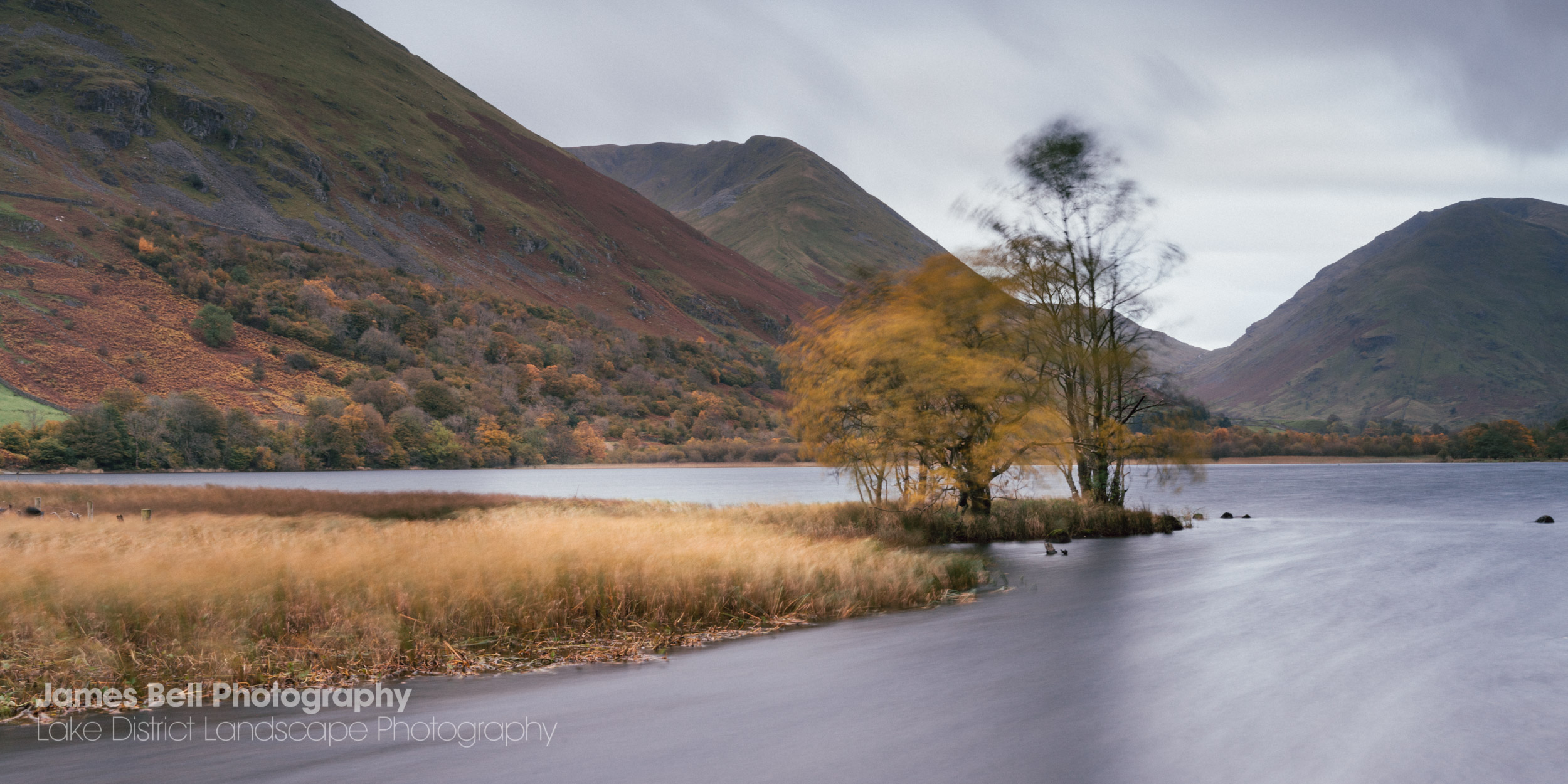Brotherswater Autumn Landscape Photography Print