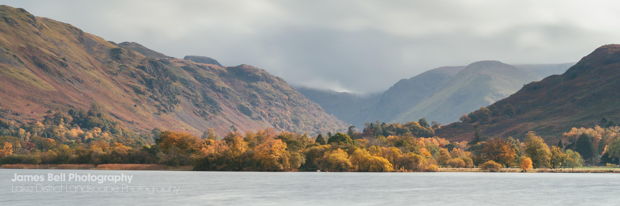 Autumn Panorama over Ullswater