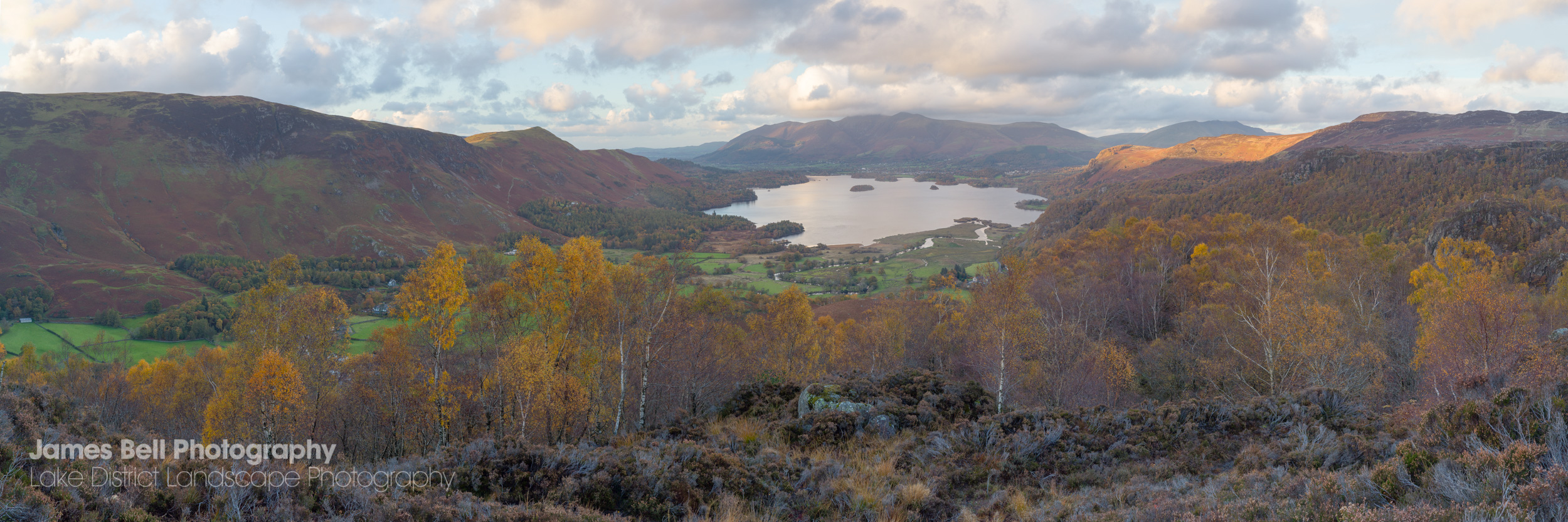 Derwentwater from Kings How Framed Print