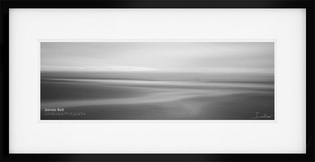 Panoramic Print of Crosby Beach