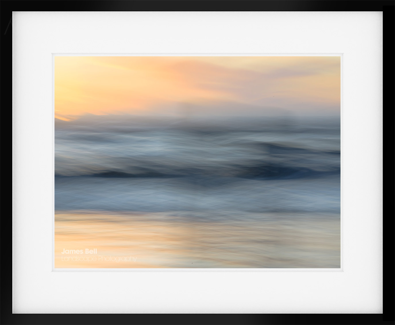Abstract Landscape Photography Print from Crosby Beach